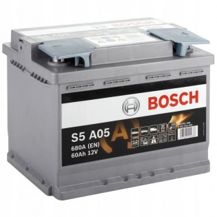 60 Ah BOSCH Start-Stop AGM